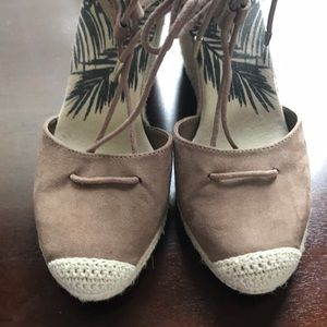Dolce Vita  taupe size 6 1/2 espadrilles